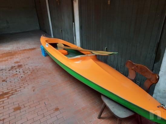 Canoa biposto in vetroresina modello Aloa foto-45381