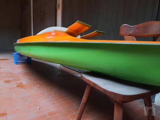 Canoa biposto in vetroresina modello Aloa foto-45382