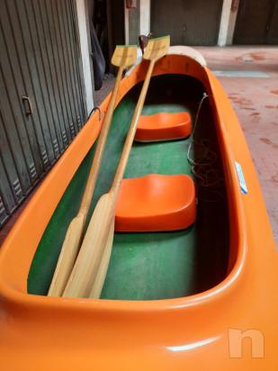 Canoa biposto in vetroresina modello Aloa foto-45383