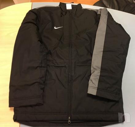 Giaccone in vernale nero, Nike, taglia L bambino (11-13 anni), nuovo foto-23032