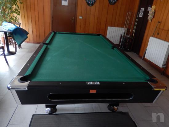Tavolo da biliardo semiprofessionale per pool dimensioni internazionali 285x160x80 cm , piano gioco 254x127 cm, usato da 2 anni foto-23034