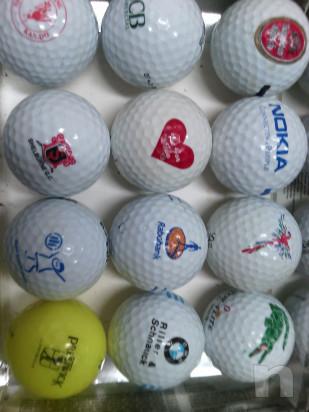 44 palline da golf loggate da collezione bacheca  foto-45523