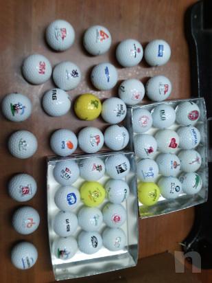 44 palline da golf loggate da collezione bacheca  foto-23054