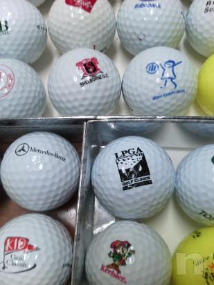 44 palline da golf loggate da collezione bacheca  foto-45524