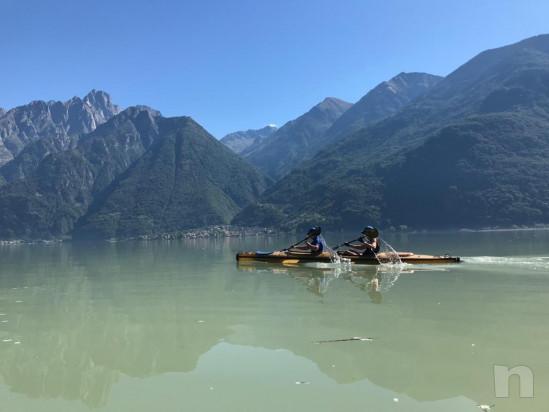 Kajak biposto in Kevlar fiume lago mare  foto-23075