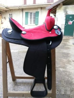 vendo sella western SILVER HORSE foto-45616