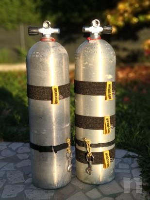 Set 4 elastici NUOVI per bombola alluminio S80, altezza 6 cm (80 euro) foto-23141
