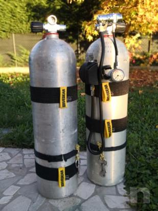 Set 4 elastici NUOVI per bombola alluminio S80, altezza 6 cm (80 euro) foto-45692