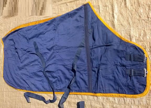 Coperta per Cavallo RG Import. , in cotone/pile foto-23226