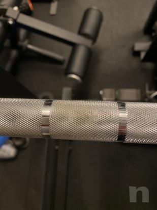 Bilanciere olimpico 20 kg 220 cm foto-46007