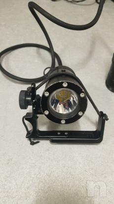 Lampada Sub Speleo 4000lm foto-46322