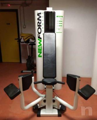 adductor machine  pacco pesi 50 kg foto-23428