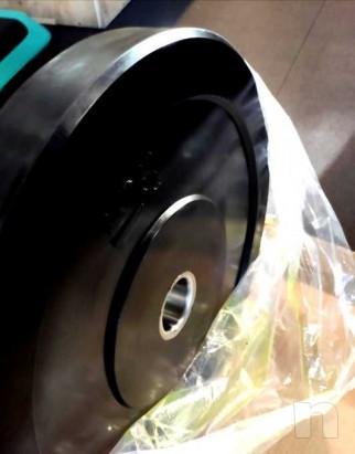 Dischi Bumpers plate NUOVI 10/15/20kg foto-46419