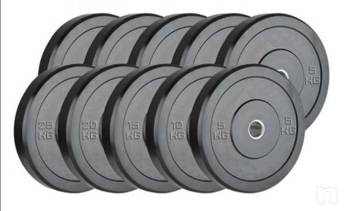 Dischi Bumpers plate NUOVI 10/15/20kg foto-23457
