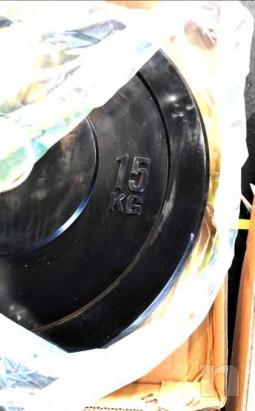Dischi Bumpers plate NUOVI 10/15/20kg foto-46418