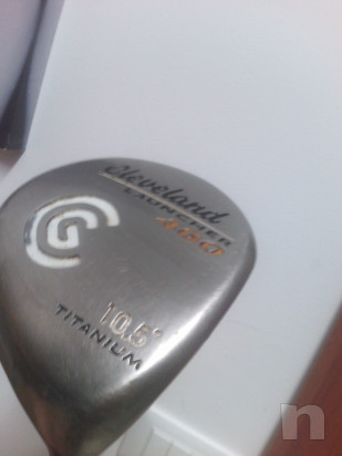driver golf ceveland launcher titanio foto-23473
