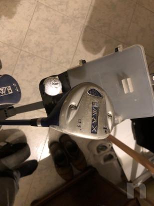 Mazze da golf sacca e carrello  foto-46514