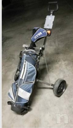 Mazze da golf sacca e carrello  foto-23504