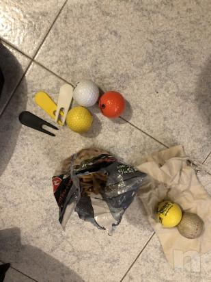 Mazze da golf sacca e carrello  foto-46516