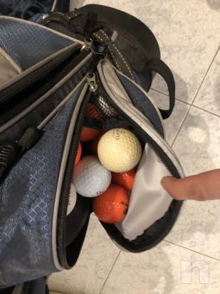Mazze da golf sacca e carrello  foto-46515