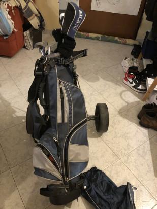 Mazze da golf sacca e carrello  foto-46513