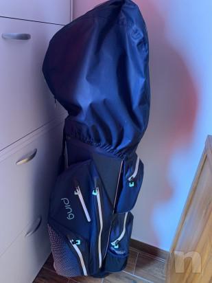 Vendo Ping Ladies Pioneer Monsoon Waterproof Golf Cart Bag foto-46571