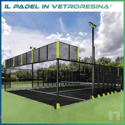 IMPIANTO PADEL IN VTR ( Vetroresina ) foto-23625