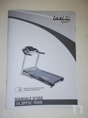 Tapis roulant elettrico Luzi Sport 1500 foto-46791
