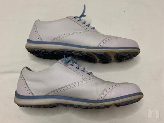 Scarpe golf pelle donna 41 foto-23669