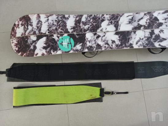 Burton Custom Splitboard 160 cm   pelli K2 foto-46902