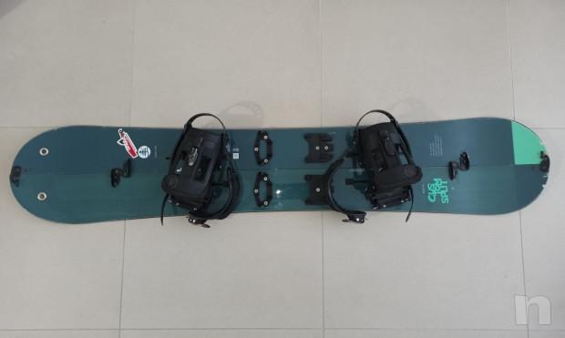 Burton Custom Splitboard 160 cm   pelli K2 foto-23706