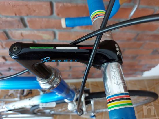 Bicicletta corsa Vintage Ravasi Super Milano 1984 foto-47388