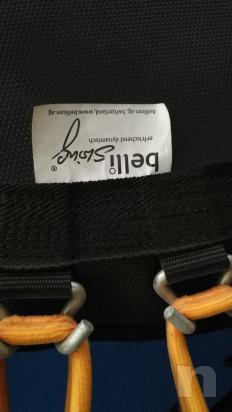 tappeto elastico circolare bouncer 110 cm dm con piedini h. 26 - bellicon foto-47444
