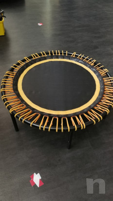 tappeto elastico circolare bouncer 110 cm dm con piedini h. 26 - bellicon foto-23942