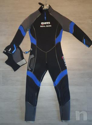 Muta Mares SEAL skin 6mm Uomo con cappuccio praticamente nuova! foto-24002