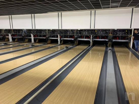 Bowling 12 piste completo già smontato e pronto da trasportare foto-24028