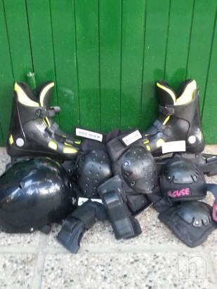 roller blade e attrezzattura usati!!!70 euro trattabili foto-2569