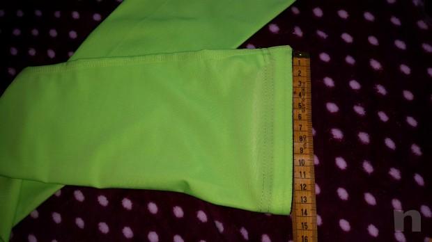 Manicotto xl verde fluo foto-4626