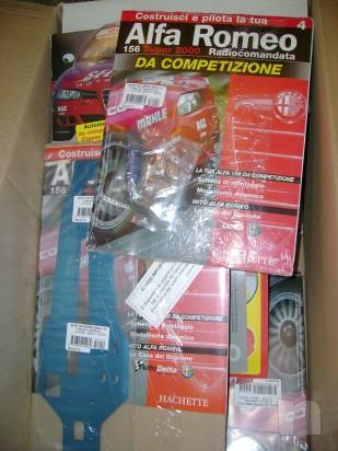MODELLINO ALFA ROMEO 156 DA COMPETIZIONE foto-4666