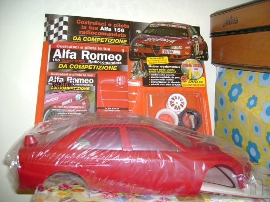 MODELLINO ALFA ROMEO 156 DA COMPETIZIONE foto-2695