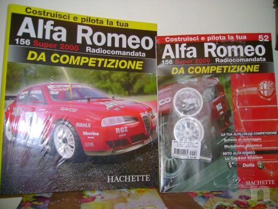 MODELLINO ALFA ROMEO 156 DA COMPETIZIONE foto-4668