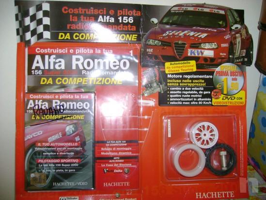 MODELLINO ALFA ROMEO 156 DA COMPETIZIONE foto-4667