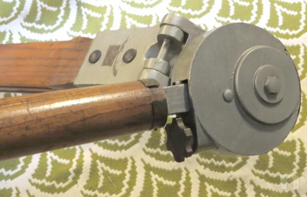 Vogatore d'epoca in legno massello foto-4888
