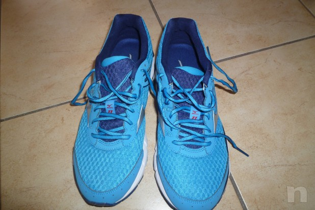 vendo scarpe running Mizuno Inspire 11 n. 42 usate 1 volta foto-2904
