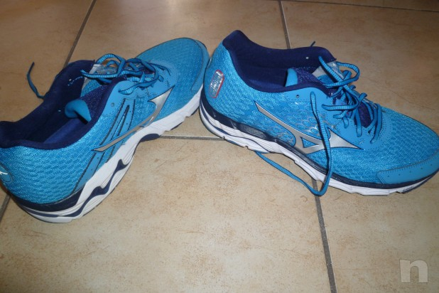 vendo scarpe running Mizuno Inspire 11 n. 42 usate 1 volta foto-5043