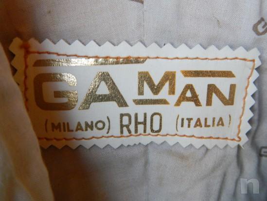Tuta da Moto Gaman - in Pelle, divisibile, da Donna - Vintage (Tg. 44/46) foto-263