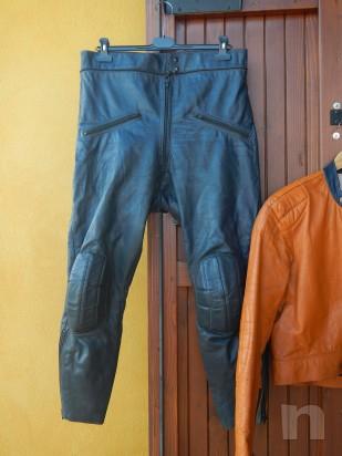 Tuta da Moto Gaman - in Pelle, divisibile, da Donna - Vintage (Tg. 44/46) foto-265