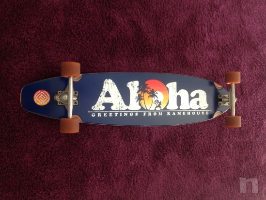 "Longboard Flying Wheels ""Aloha"" foto-5159"