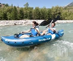 Kayak canoa gonfiabile 2 posti foto-5382