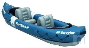 Kayak canoa gonfiabile 2 posti foto-3076